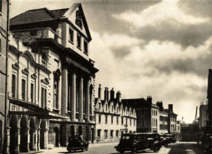 Old Image of King Street in Bristol in years gone by